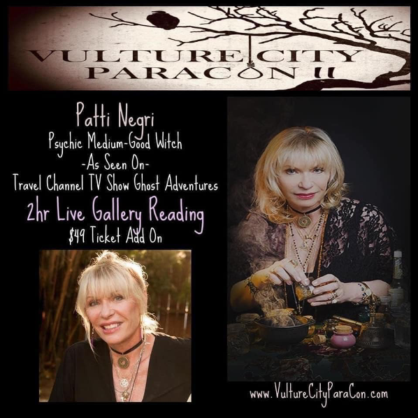 Meet Patti Negri at Vulture City Paracon II