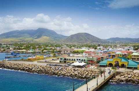 Port Zante in Basseterre town, St.. Kitts And Nevis