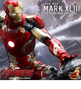 1/4 SCALE AGE OF ULTRON IRON MAN MARK XLIII