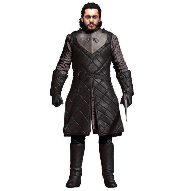 Image of Game of Thrones Jon Snow Action Figure