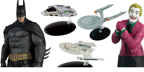 NEW EAGLEMOSS: STAR TREK, DC
