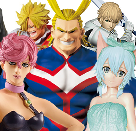 NEW BANPRESTO FIGURES