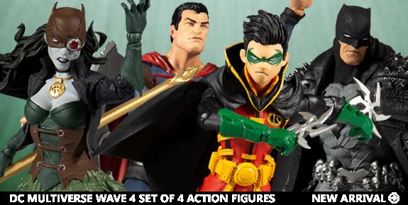 DC Multiverse Wave 4 Set of 4 Action Figures