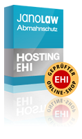 EHI Shopsiegel + Rechtstexte | AGB Hosting-Service EHI