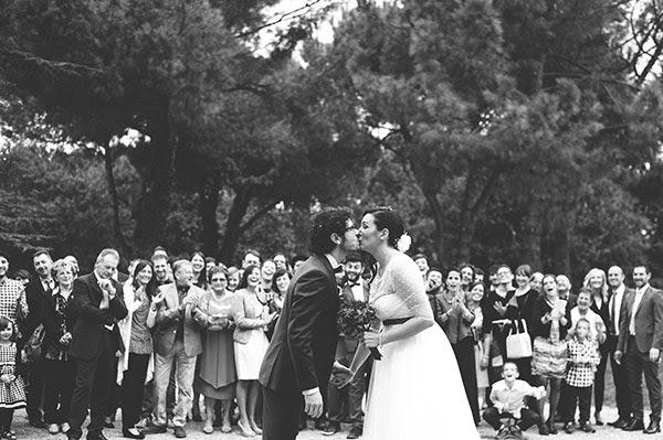 uscita degli sposi | Matrimonio civile anni 50