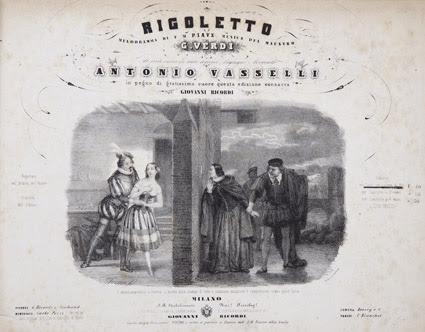 """""""Rigoletto"""" in oltre 200 cimeli storici: una mostra a Modena. Dal 30 novembre a  7.8.Novecento"""