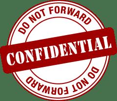 Confidential: Do Not Forward