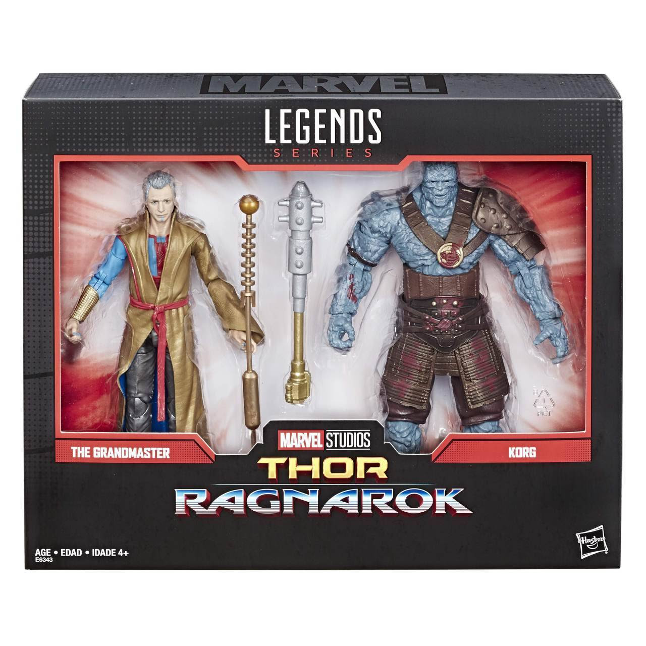 Image of Marvel Comics 80th Anniversary Marvel Legends Korg and Grandmaster 2-Pack - JULY 2019