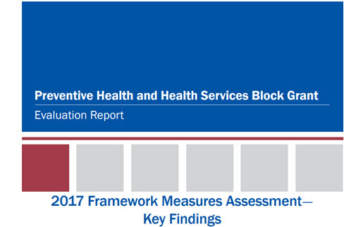 Preventive Health and Health Services Block Grant Evaluation Report: 2017 Framework Measures Assessment—Key Findings