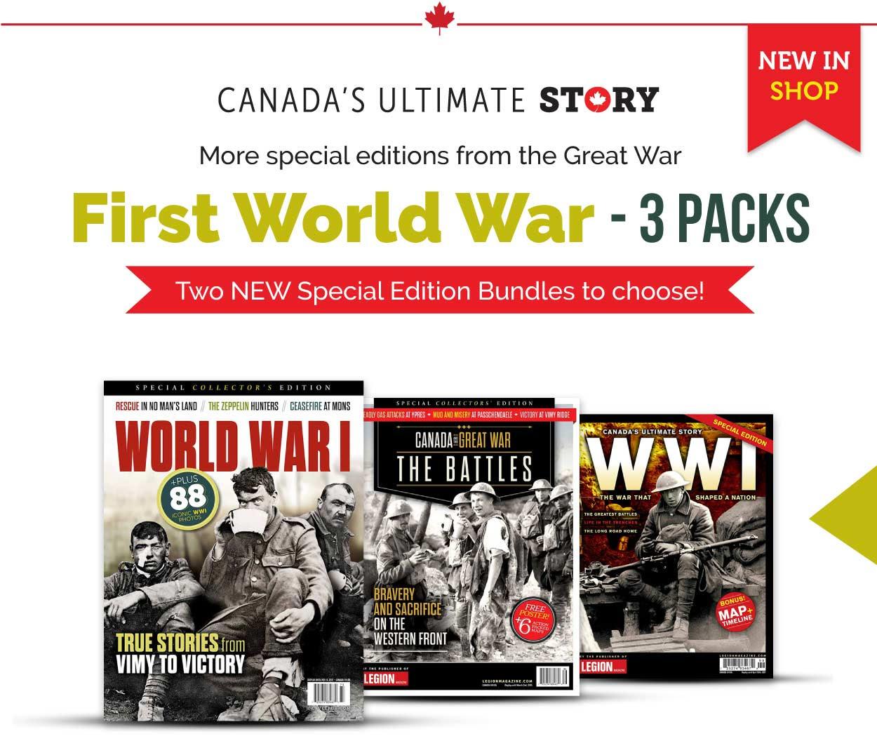 First World War 3 pack version 1