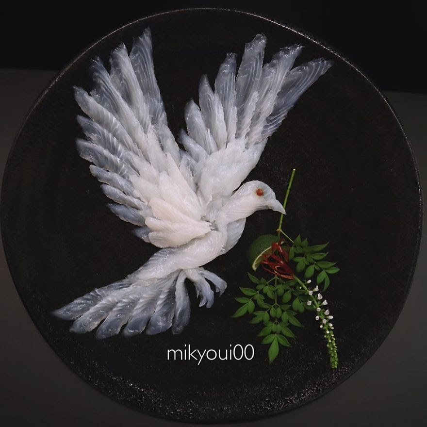 Dove With Leaf