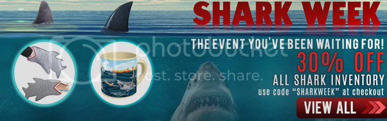 Shark Week Sale! 30% Off All S...