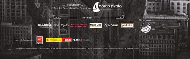 Una producción de barco Pirata