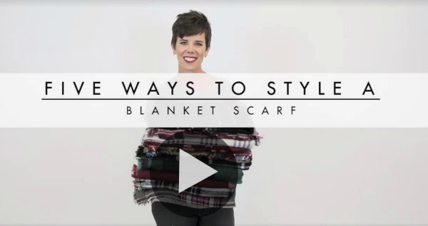 Fashion Friday: Blanket Scarves - A Wandering Vine