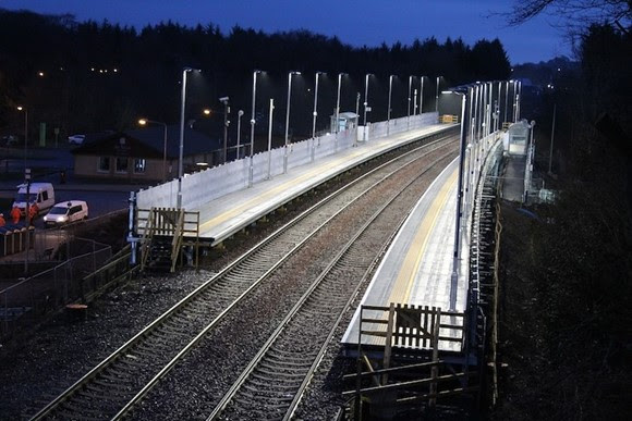 New platforms is a step-up for Livingston South station redevelopment