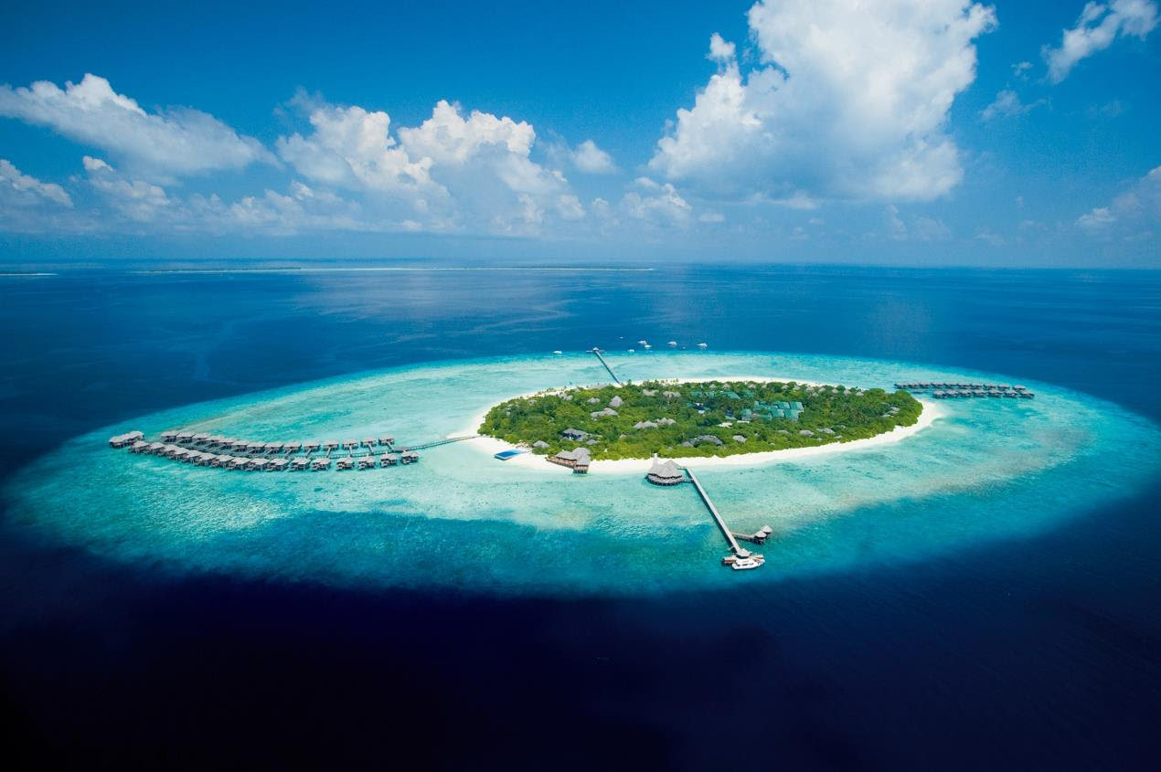 JA Manafaru - Aerial View - Hero Image