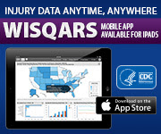 Injury data anytime, anywhere. WISQARS mobile for iPads.