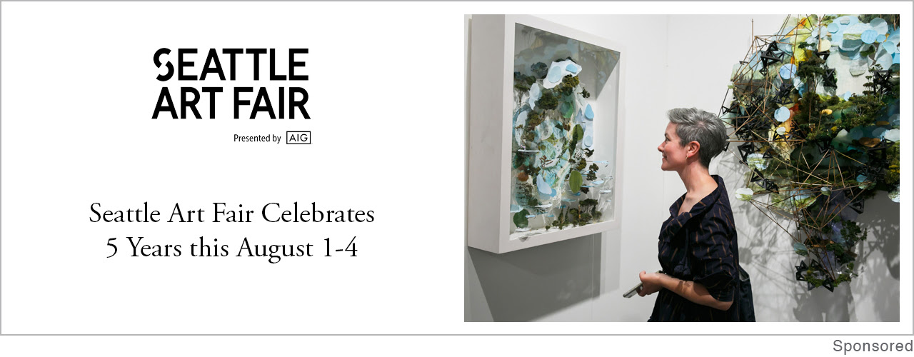 Feira de Arte de Seattle comemora 5 anos entre 1 e 4 de agosto