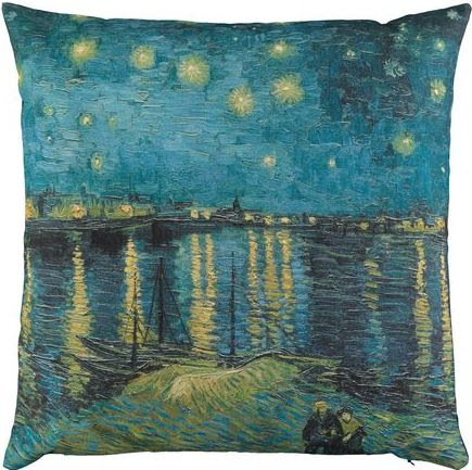 Starry Night cushion cover