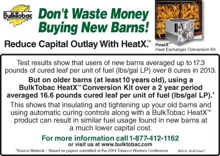 Reduce capital outlay on curing with HeatX.