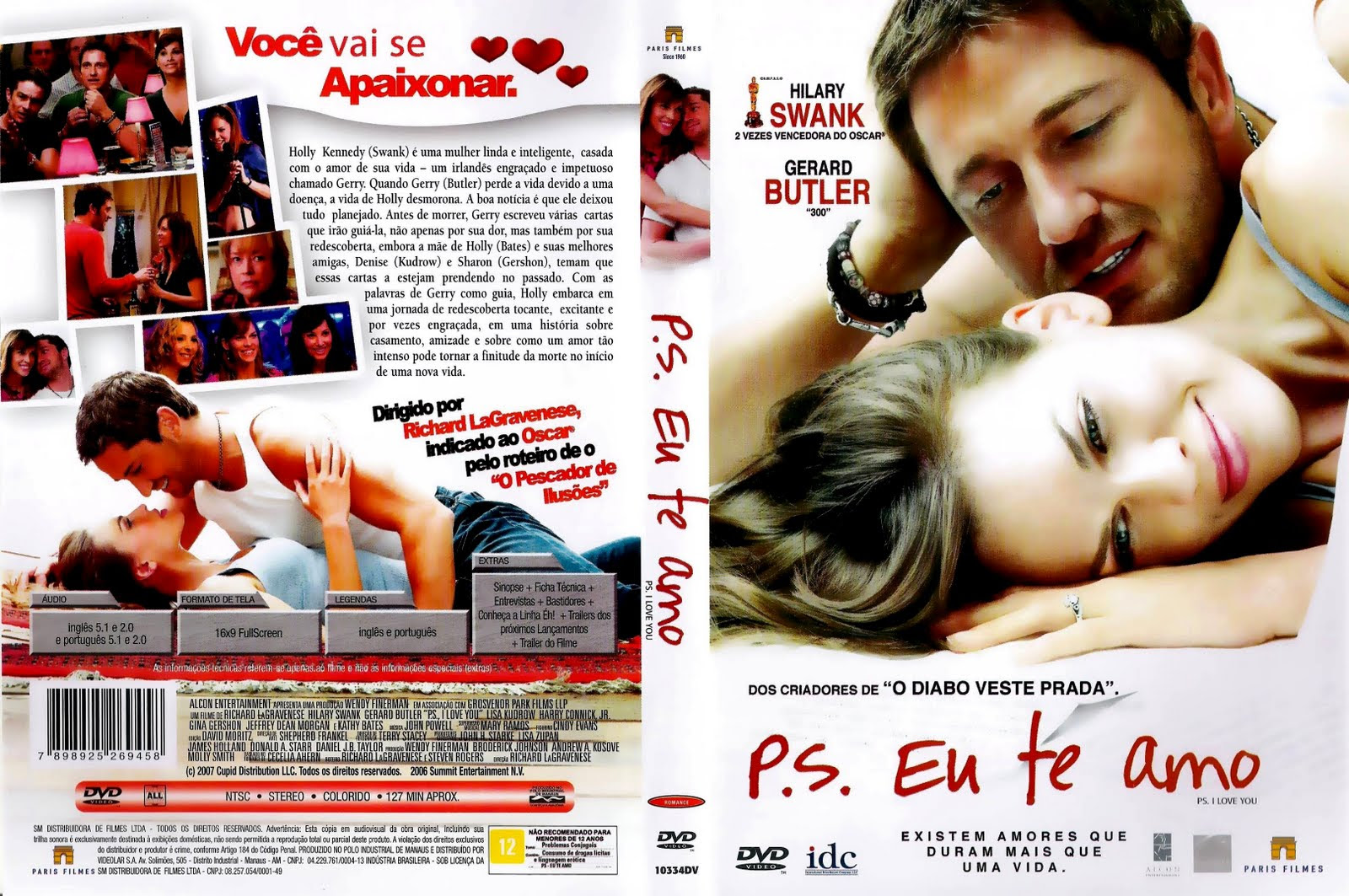 ViBIQOL P.S. Eu Te Amo Torrent   BluRay Rip 720p Dublado (2007)