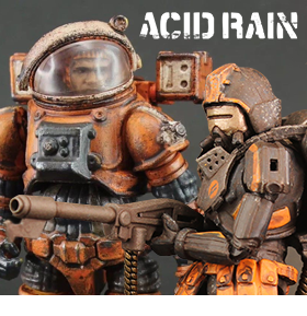 ACID RAIN SPACE PRISONER & FLAME TROOPER