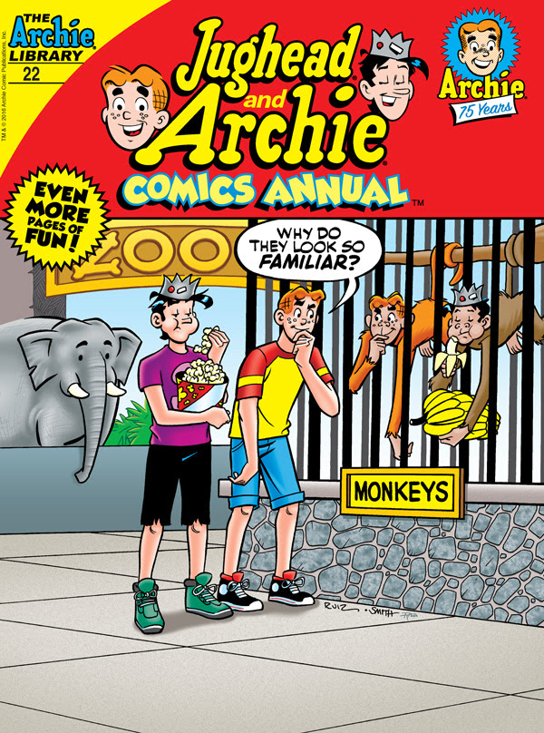 JUGHEAD AND ARCHIE COMICS ANNUAL DIGEST #22 cover by Fernando Ruiz
