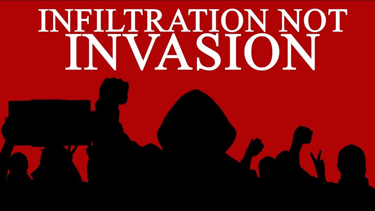 Chaos in Kenosha - Infiltration Not Invasion 6AJH8FjQP7