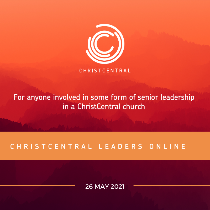 Terry Virgo - ChristCentral Leaders Online Recording