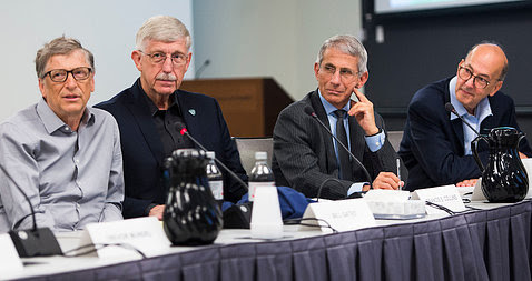 Bill and Fauci picture