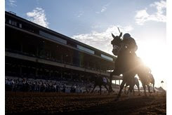 Horses race at Del Mar