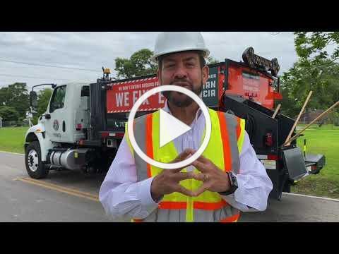 Precinct 2 On the Clock - Pothole Repair