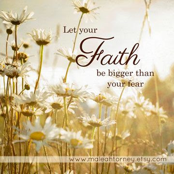 "Custom made ""Faith"" Quote - ""Glowing Daisies"" photo by Maleah Torney Photography #sale #gift #giftsunder25 $10.00"