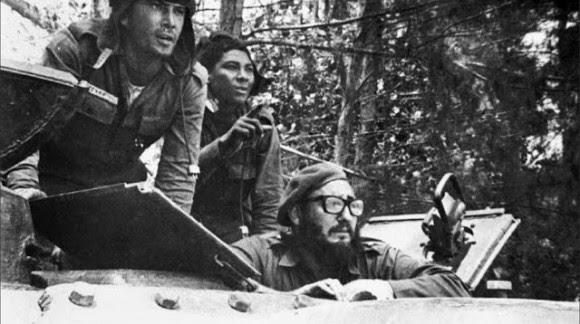 Fidel Castro en Playa Girón.