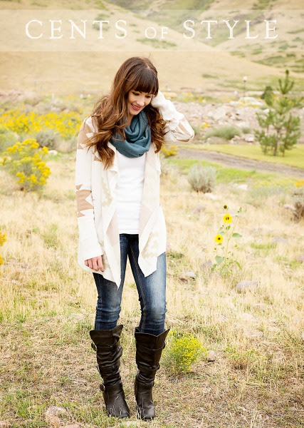 IMAGE: Fashion Friday- 9/12/14- Boots & Scarf- $32.95 & FREE SHIPPING with Code CELEBRATE