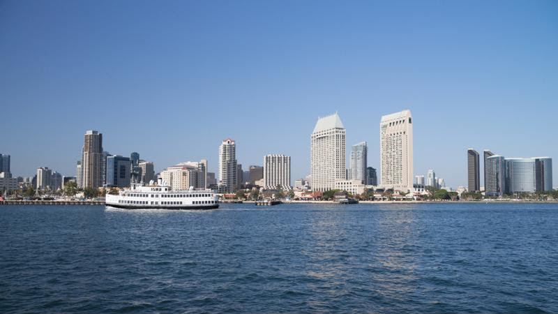 Start your journey in San Diego.