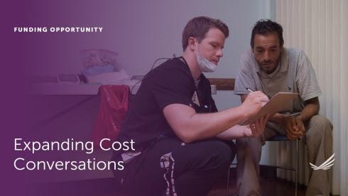 Expanding costs coversations between patients and doctors.