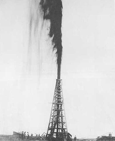 Spindletop gusher 1901 AOGHS