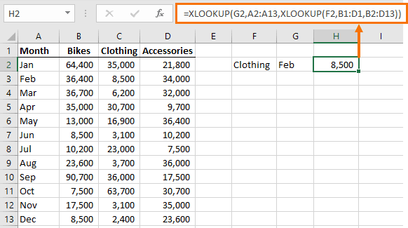 XLOOKUP does INDEX & MATCH