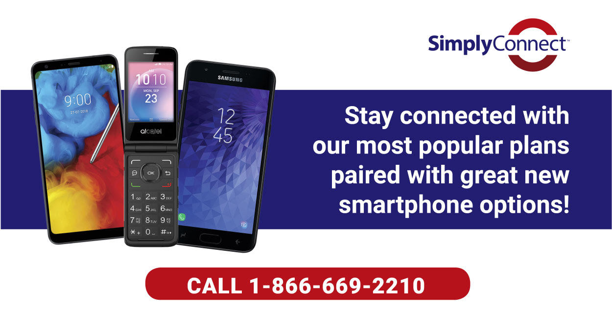 Simply Connect - Smartphone options
