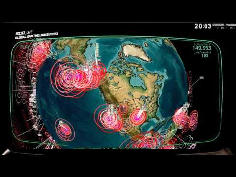7/25/2016 -- Multiple M6.0+ Earthquakes striking across Pacific -- West coast USA on watch  Hqdefault