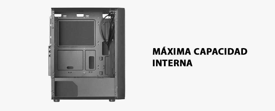 SEMITORRE GAMING MC500 Refrigeración, iluminación y rendimiento