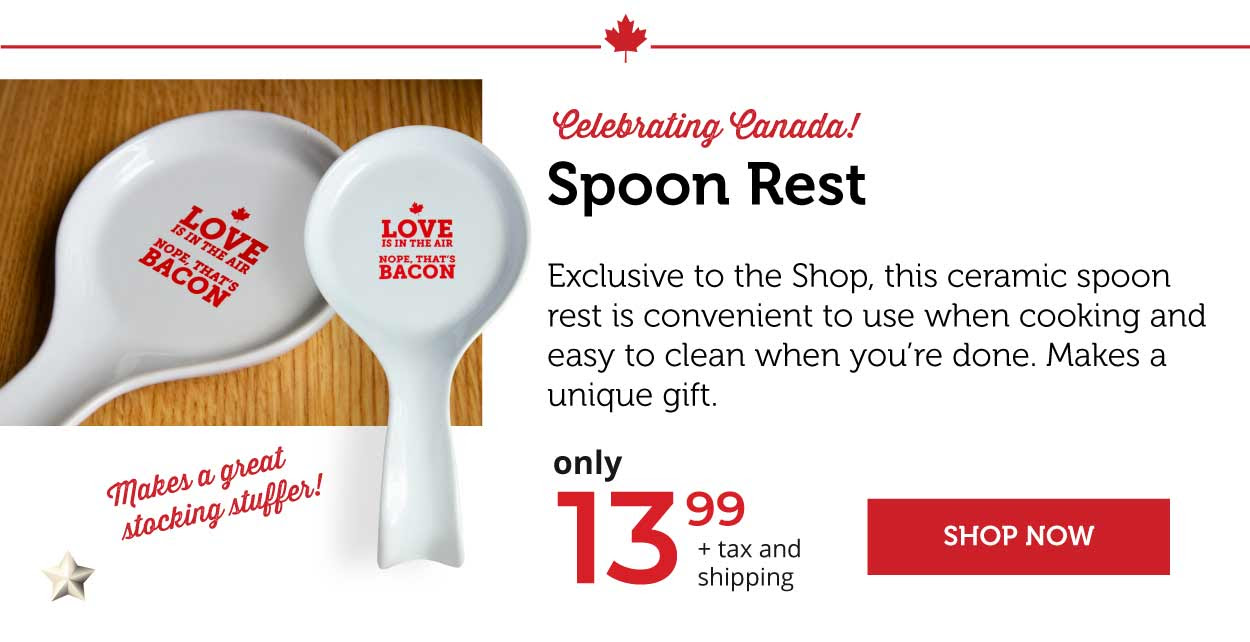 Spoon Rest - Celebrating Canada!