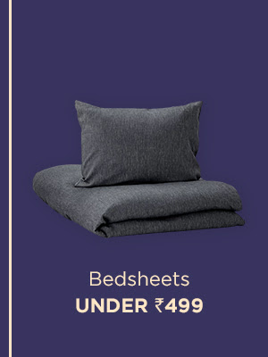 Bedsheets under Rs. 499
