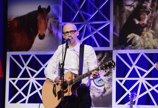 Moby Performs At HSUS To The Rescue! New York Gala