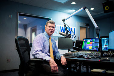"""Charlie Sykes, a conservative talk radio host in Milwaukee, has been criticizing Donald J. Trump, charging that Mr. Trump had violated Wisconsin's """"tradition of civility and decency"""" in politics."""