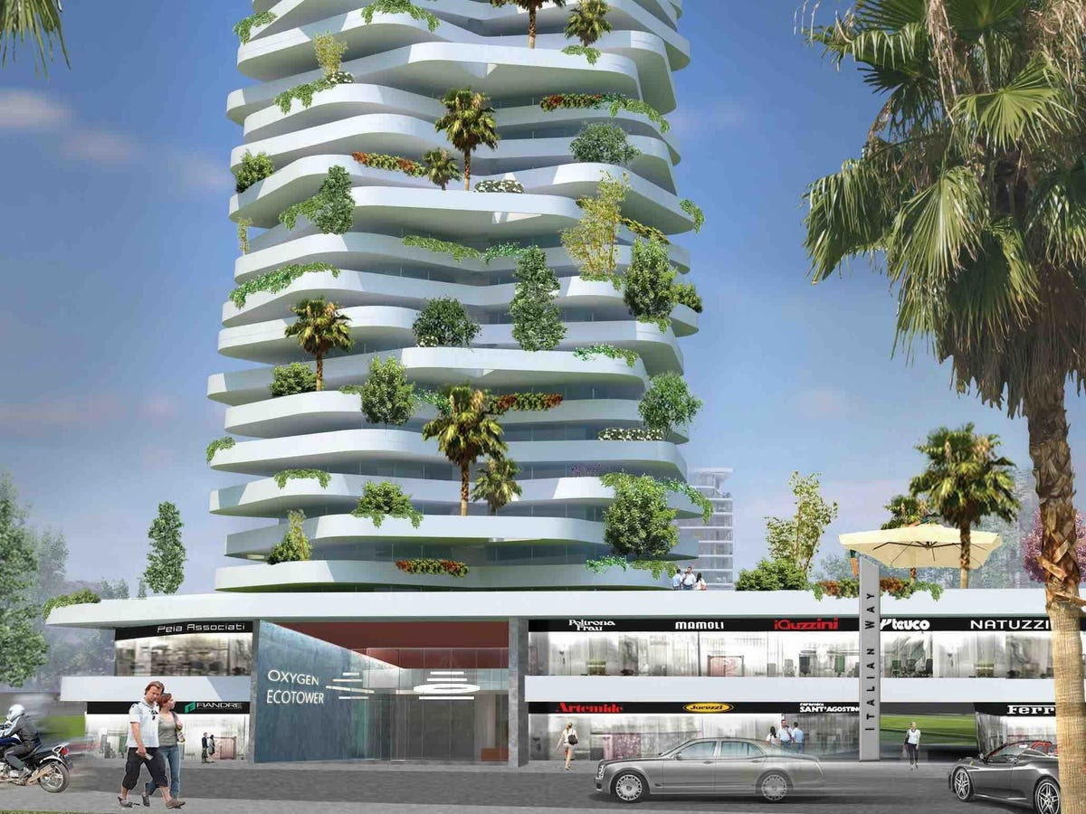 Oxygen Eco-tower (Nominated for Best Futura Mega Project)