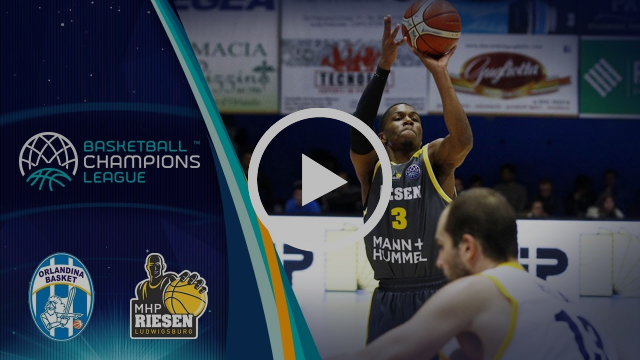 SikeliArchivi Capo d'Orlando v MHP Riesen Ludwigsburg - Highlights - Basketball Champions League
