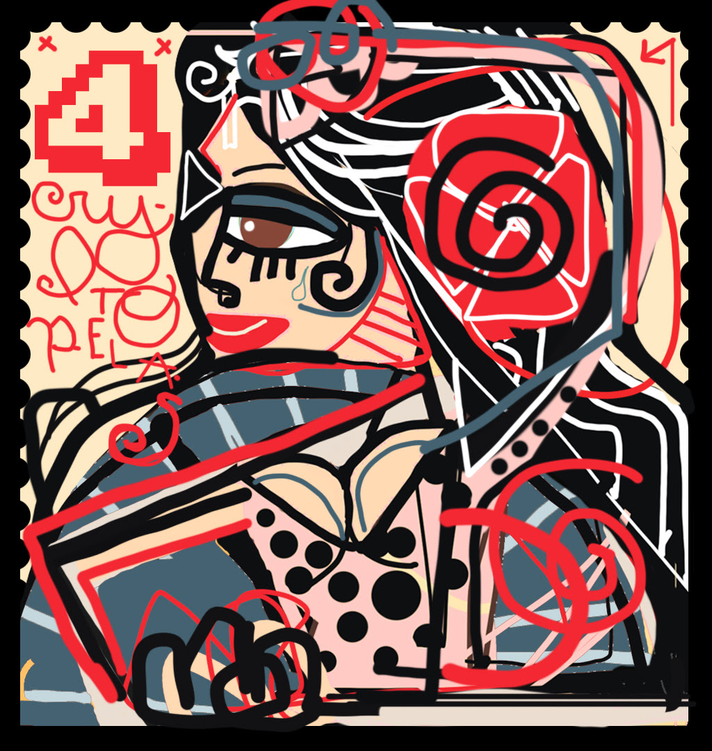 Las CRIPTOPELAS La primera expo de arte digital (cryptoarte) + arte analógico de Miguel Caravaca de la mano de IWC SCHAFFHAUSSEN - Vanitas