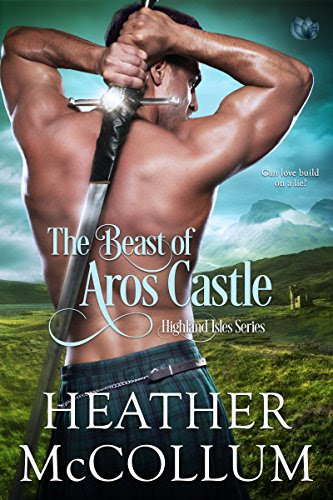 Cover for 'The Beast of Aros Castle (Highland Isles Book 1)'